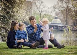 Family photo shoot Hackney