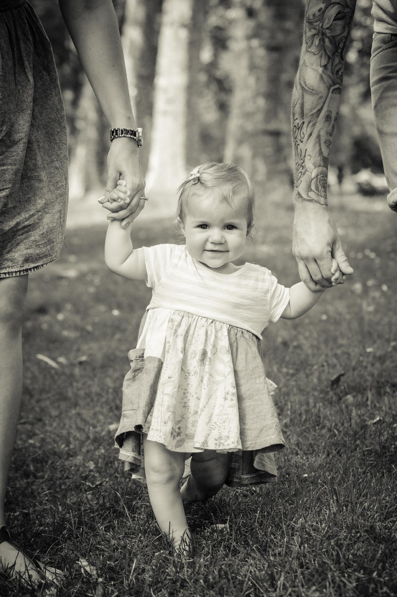 Toddler park photoshoot