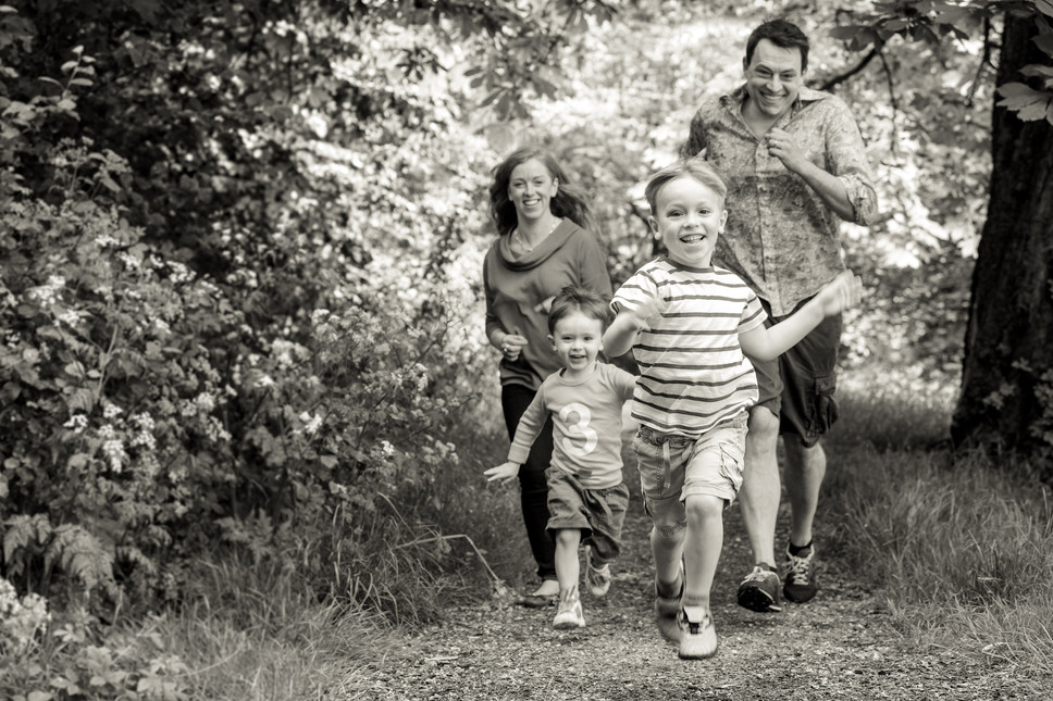 Highbury family photoshoot