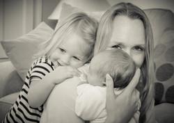 Parent and child photoshoot