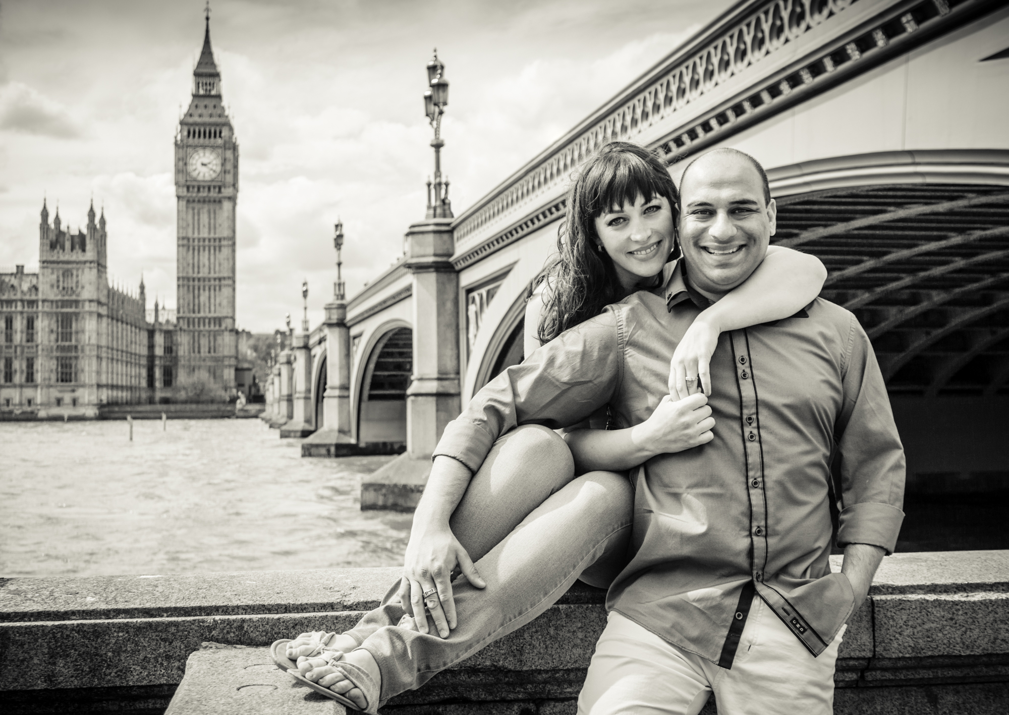 London sightseers photography