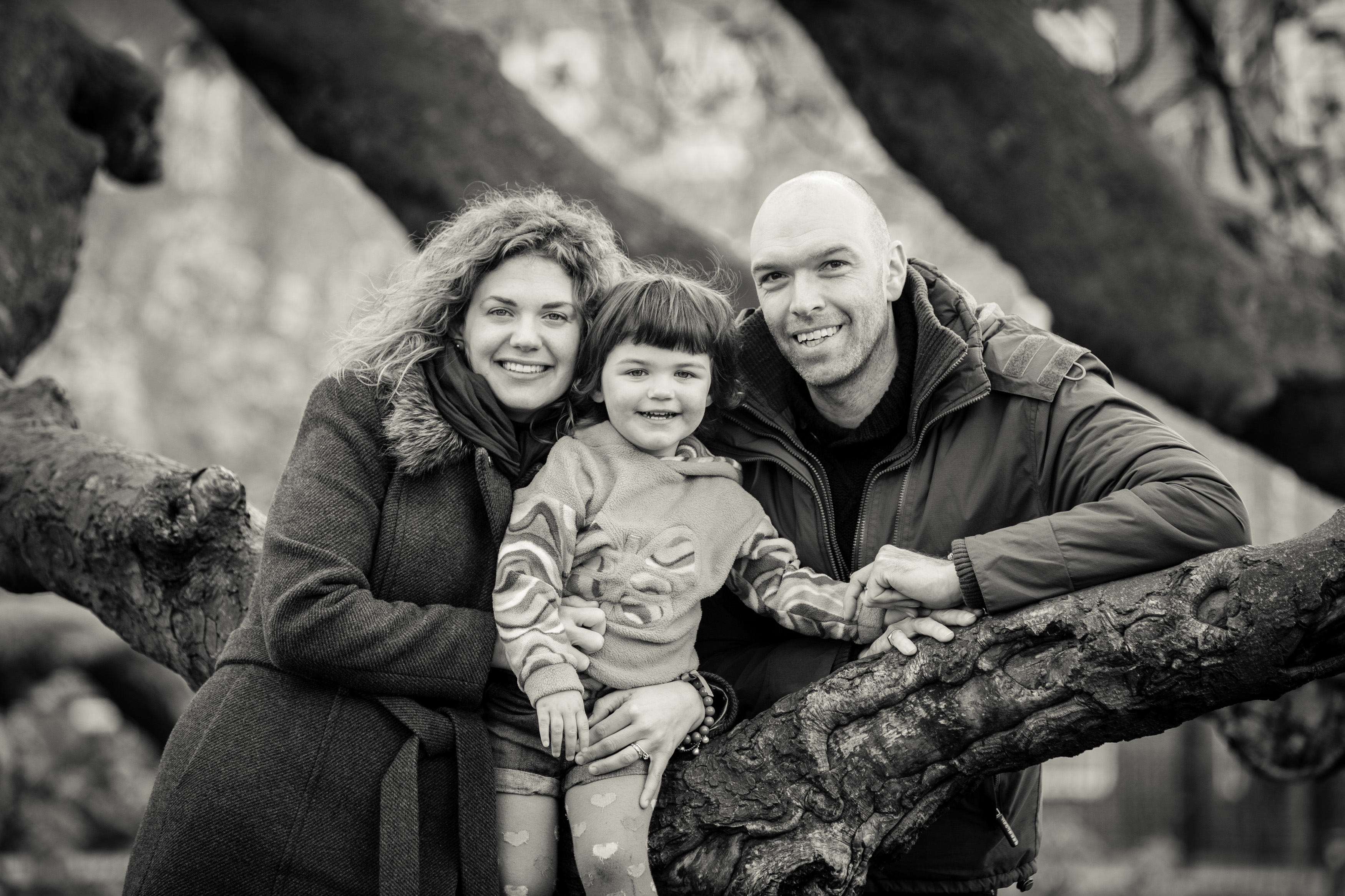 Family photo shoot, Clissold Park