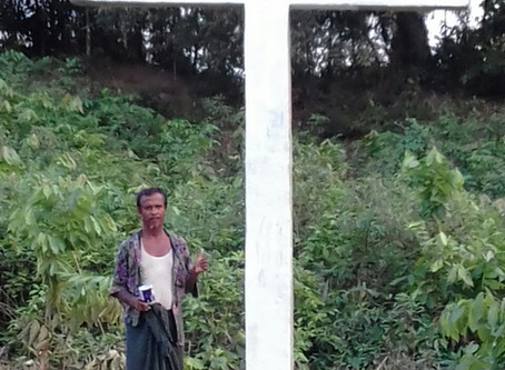 Cross, and its importance for Rohingya Christian