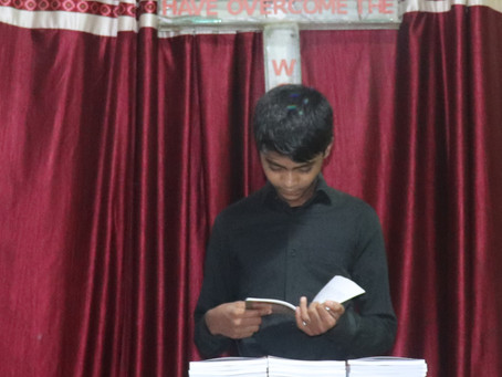 Privilege to have Rohingya Christian Song book