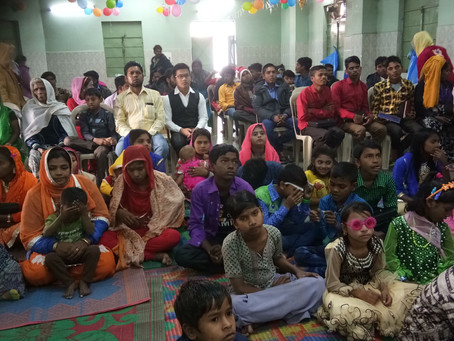 Rohingyas are happy to receive Jesus Christ