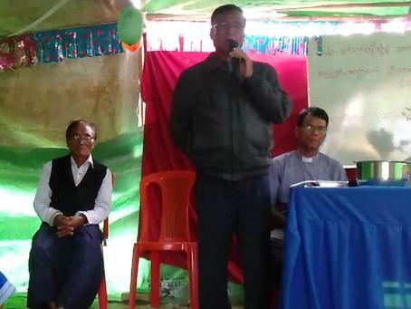 Christ's cross and Rohingya Christian