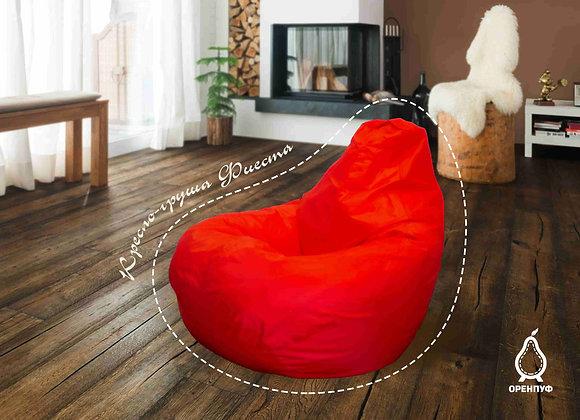 Кресло-груша Фиеста - красная