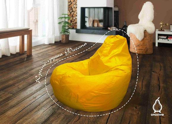 Кресло-груша Фиеста - желтая