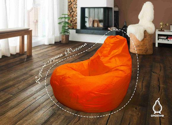 Кресло-груша Фиеста - оранжевая