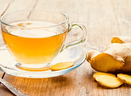 Ginger, Lemon and Honey Tea