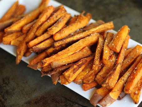 Sweet Potato Fries Ayurvedic Recipe