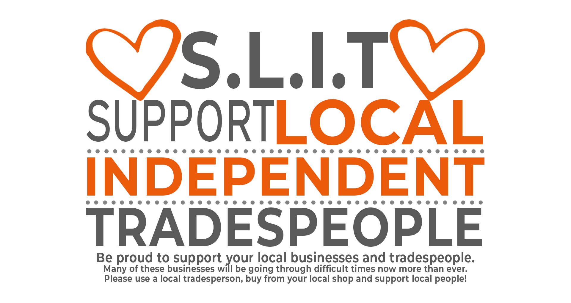 Support Local Independent Tradespeople