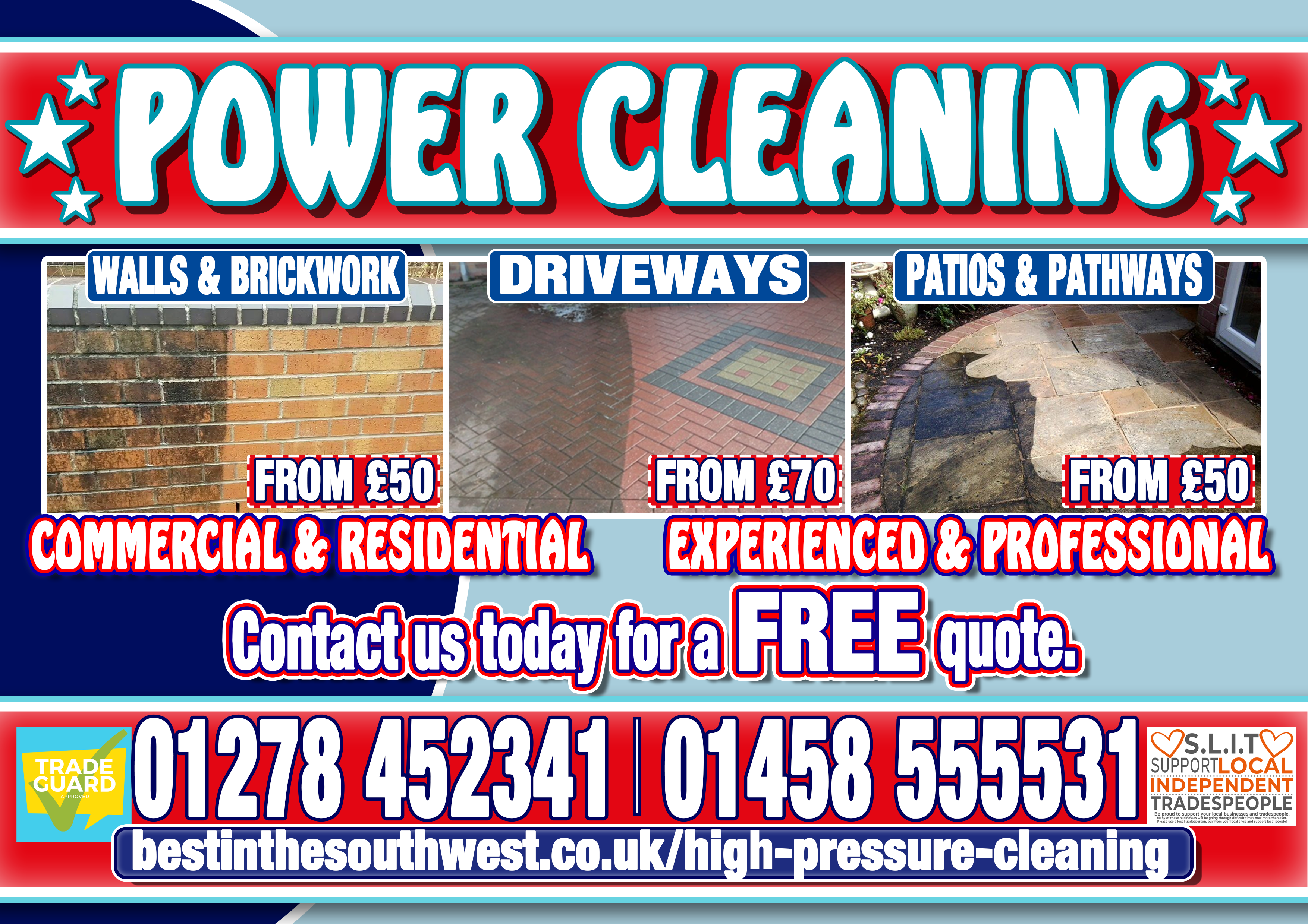 Power Cleaning flyer front