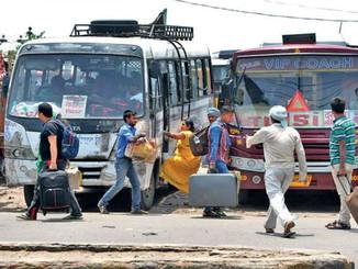 बिहार में सरकारी एवं प्राइवेट बस का बढ़ा किराया, लोगों का सफर होगा मंहगा।