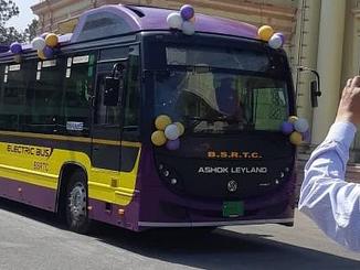 दरभंगा एयरपोर्ट को मिली एक और नई इलेक्ट्रिक बस की सौगात।