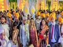 BJP विधायक के बेटे की शादी में कोरोना गाइडलाइन की उड़ी धज्जियां।