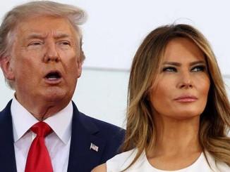 अमेरिका के राष्ट्रपति डोनाल्ड ट्रंप  एवं पत्नी मेलानिया को हुआ कोरोना।