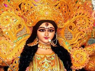 कल से नवरात्रि शुरू! डोली पर मां भगवती का आगमन, भक्तों का उत्साह चरम पर।