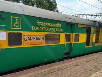 जयनगर-आनंदविहार गरीब रथ एक्सप्रेस ट्रेन का परिचालन डेढ़ साल बाद फिर से शुरू।