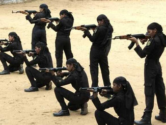 बिहार में देश की पहली महिला कमांडो दस्ता तैयार, हर चुनौती का मुकाबला करने के लिए तैयार।