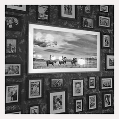 & Son Photo Wall.JPG