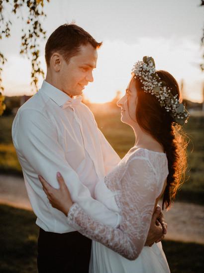 Nádherná svatba L+D