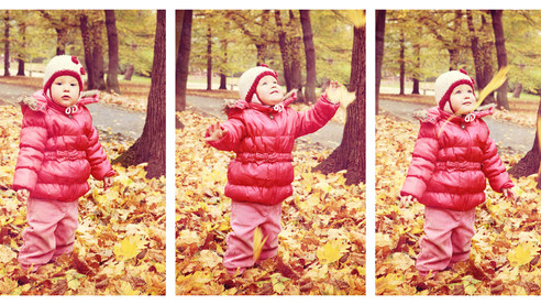 Podzim 2014 - úžasná dvojčátka :-)