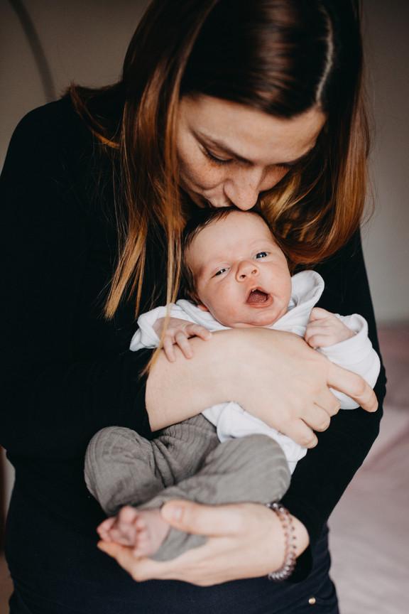 Novorozenecké focení