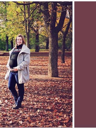Říjen 2014 - podzimní těhotenské focení