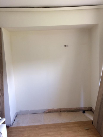 Wall Bed with Wardrobe