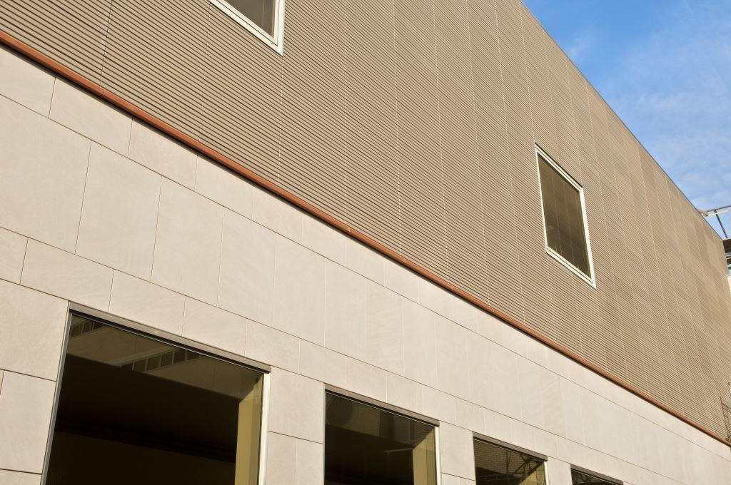 Limestone & Terracotta Facade