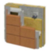 Argeton Terracotta Rainscreens - Max Thermal Effciency System