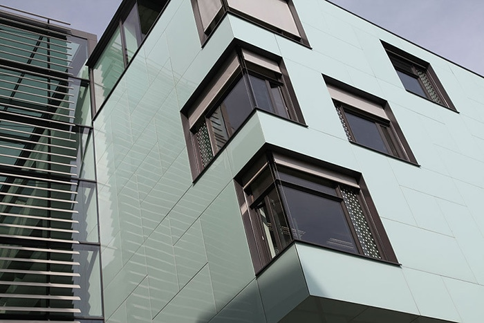 Stone and Glass Cladding
