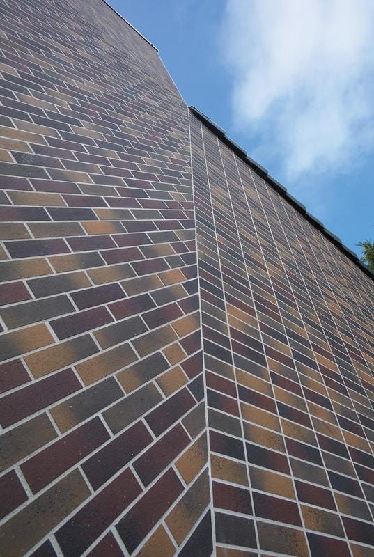 brick facade - corium brick cladding