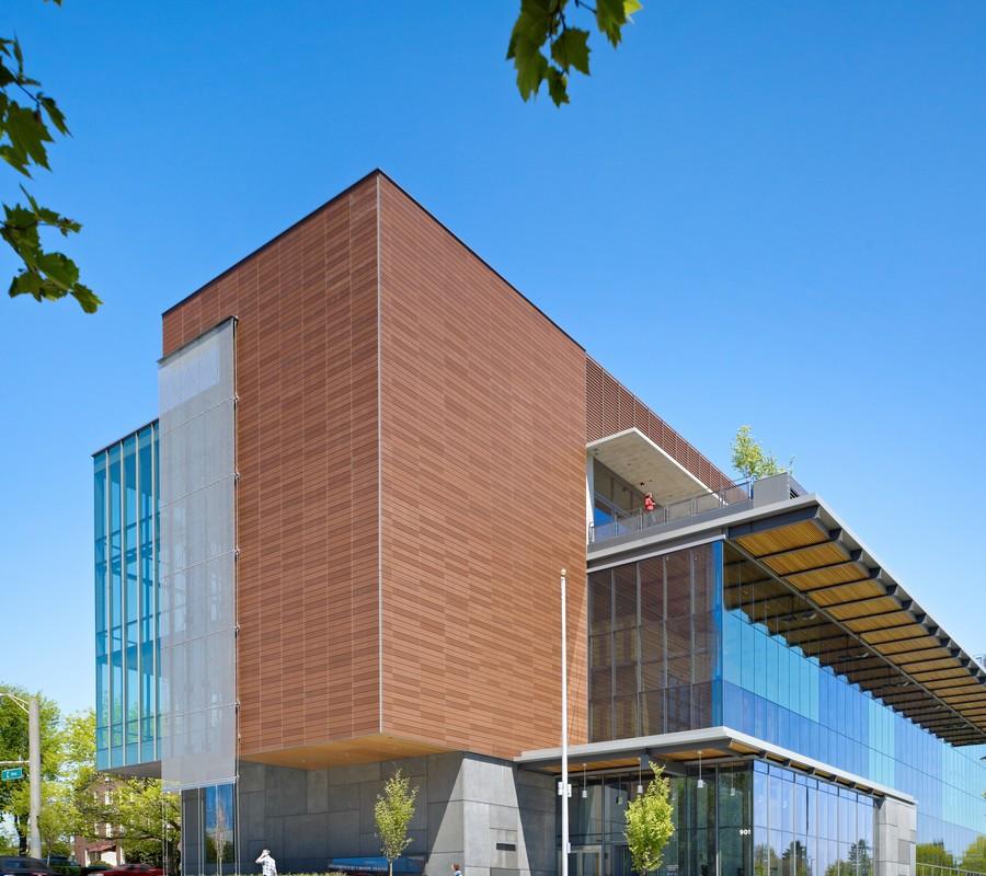 Vancouver Community Library with Argeton Terracotta Rainscreen