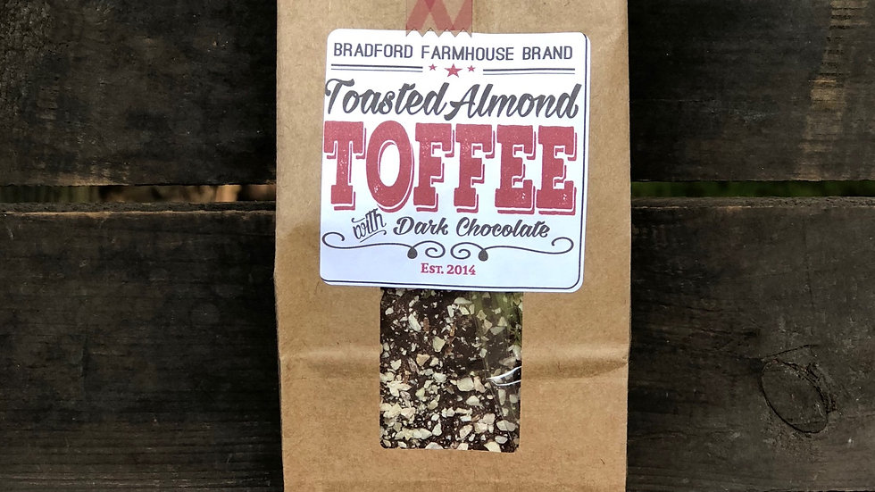 Toasted Almond Toffee