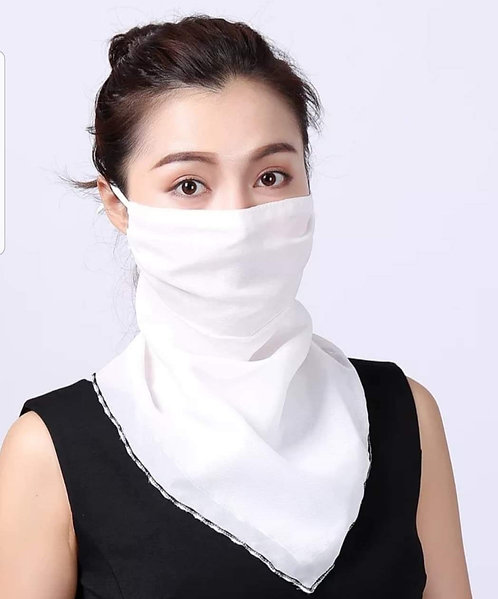 Voile Scarf Mask 182