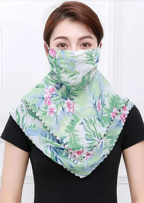 Voile Scarf Mask 193