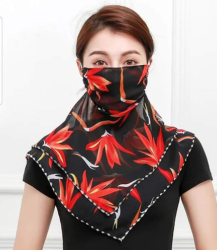 Voile Scarf Mask 196