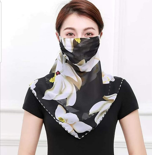 Voile Scarf Mask 197