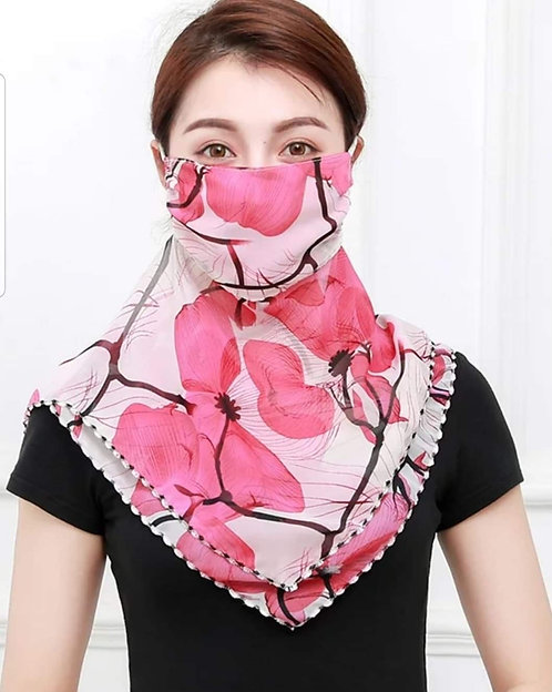 Voile Scarf Mask 194