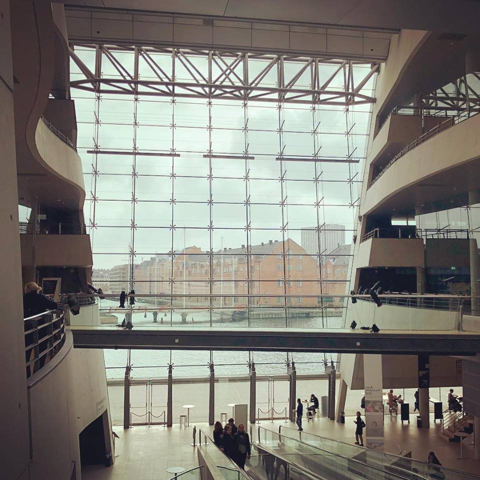 Biblioteca Reale di Copenaghen (Black Diamond)