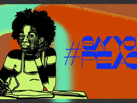 #SayYourPeace