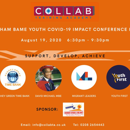 Lewisham BAME Youth Covid-19 Impact Conference part 2