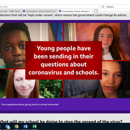 Your questions about returning to school answered - Newsround