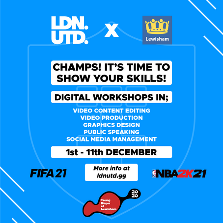 Fifa 21 - NBA221 - interborough tournament and workshops!
