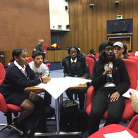 Young Advisors working on local projects for young people in Lewisham.