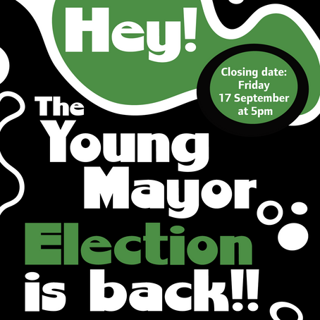 The Young Mayor Election is back for 2021!