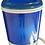 zeny blue and white portable washing machine front view