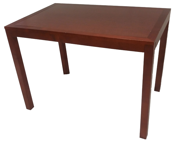 wood table/desk side view